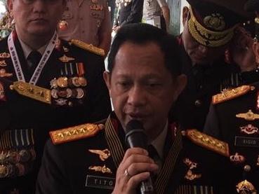 Kapolri Jenderal Pol Tito Karnavian. Foto: Medcom.id/Dian Ihsan Siregar.