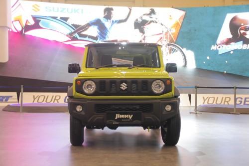 Suzuki memajang All New Jimny di GIIAS 2018. Medcom.id/Ekawan