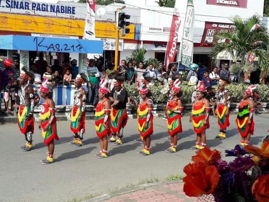 Pererat Perdamaian, Ditjen PDTu Gelar Festival Budaya di Nabire
