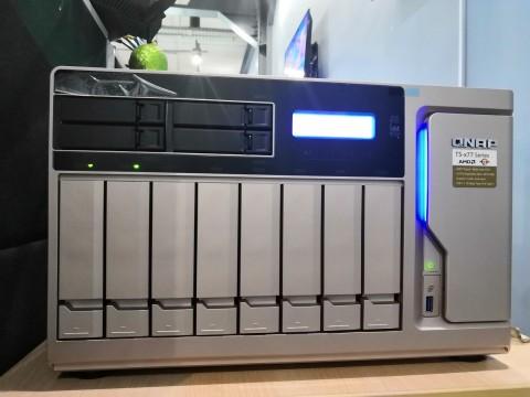 QNAP TS-1277, Bertenaga Berkat AMD Ryzen