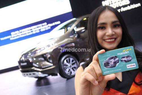 Service Booking Card baru untuk konsumen Xpander. Medcom/ A.