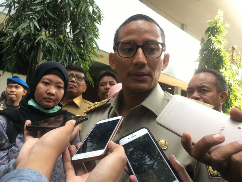 Wakil Gubernur DKI Jakarta, Sandiaga Uno - Medcom.id M/Sholahadhin Azhar.