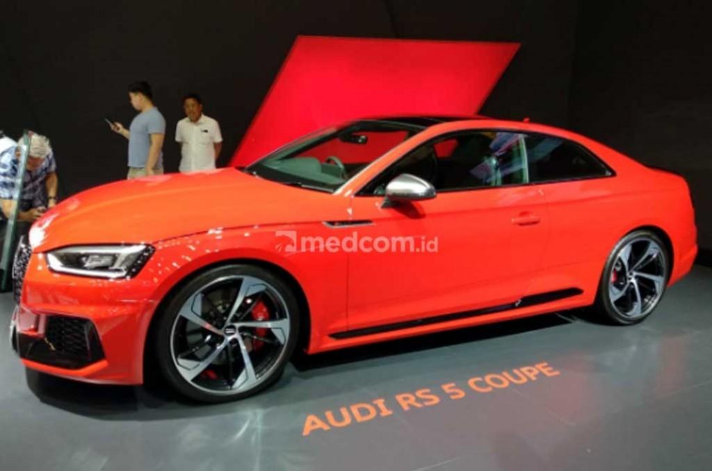 New Audi RS 5 Coupe. Medcom.id/M. Bagus Rachmanto