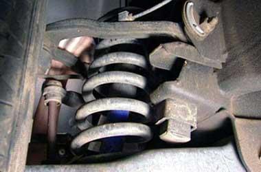 Per mobil yang sudah lemah mempengaruhi kenyamanan berkendara.