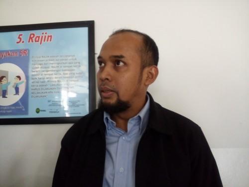 Bachtiar Yusuf, Kuasa Hukum Syamsul Fuad. (Foto: