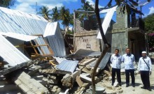 Kemenaker Galang Bantuan Korban Gempa Bumi Lombok