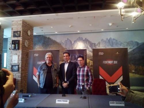 (kiri-kanan) Mario Kassar, Manoj Punjabi, Randy Korompis. (Foto: