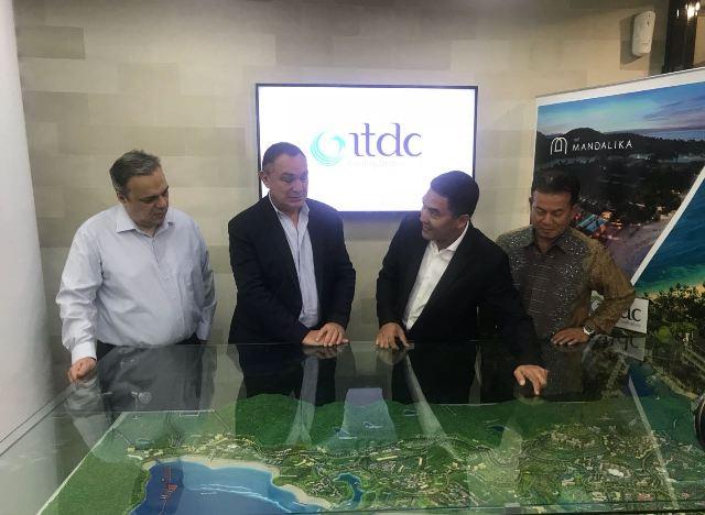 PT Pengembangan Pariwisata Indonesia (Persero) lakukan kerja sama untuk pemanfaatan dan pembangunan lahan seluas 131 ha di KEK Pariwisata Mandalika. Dok;IST.