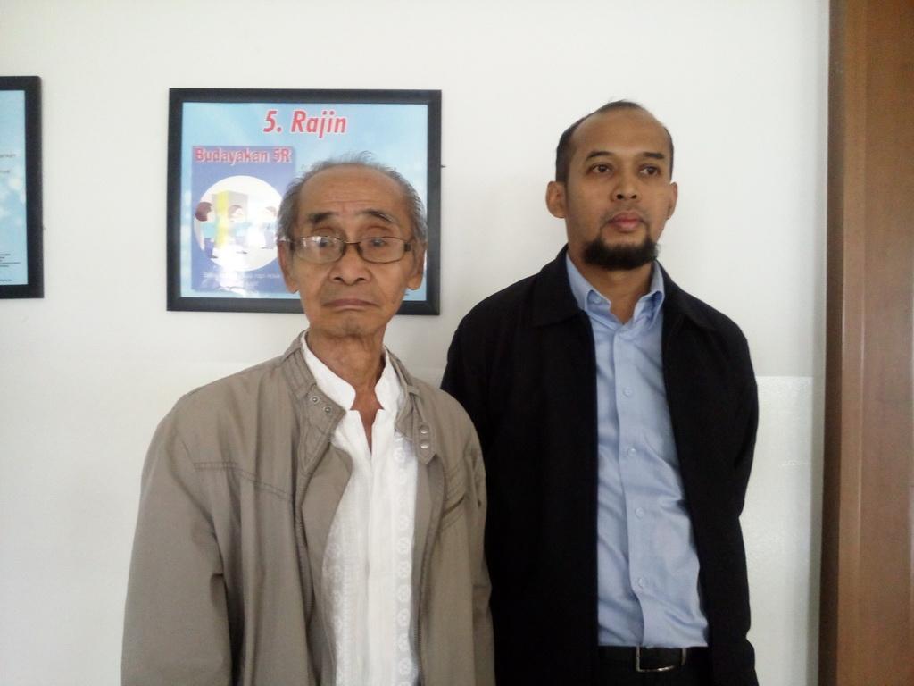 (Kiri-kanan) Syamsul Fuad dan Bachtiar Yusuf. (Foto: Medcom.id/Cecyli Rura)