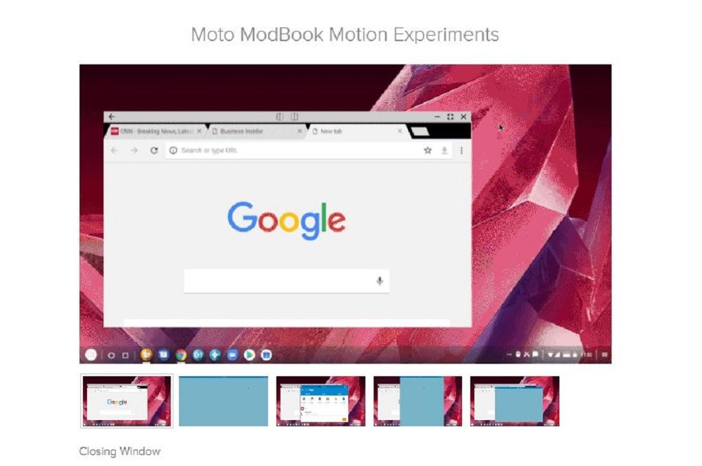 Lenovo dikabarkan tengah mengembangkan aksesori untuk lini Motorola Moto Z bertajuk Moto Modbook.