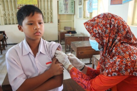Angka Imunisasi MR di Sulut Melebihi Rerata Nasional