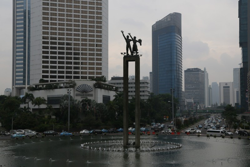 Hotel di Sekitar Asian Games Jakarta. MI/RAMDANI.