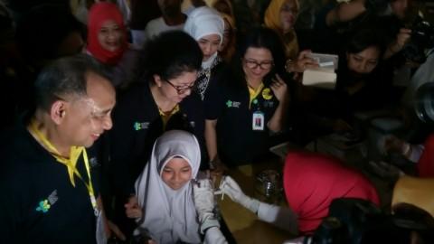 22 Persen Anak Sekolah di Makassar Sudah Divaksin MR