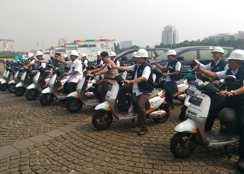 Motor Listrik untuk Asian Games. Medcom/Ilham Wibowo.