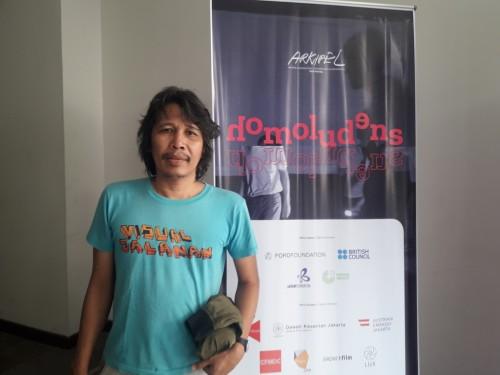 Hafiz Rancajale, Direktur Artistik Arkipel (Foto: Medcom/Elang)