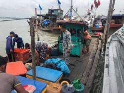 Lanal Tanjung Balai Asahan Ungkap Penyelundupan TKI Ilegal