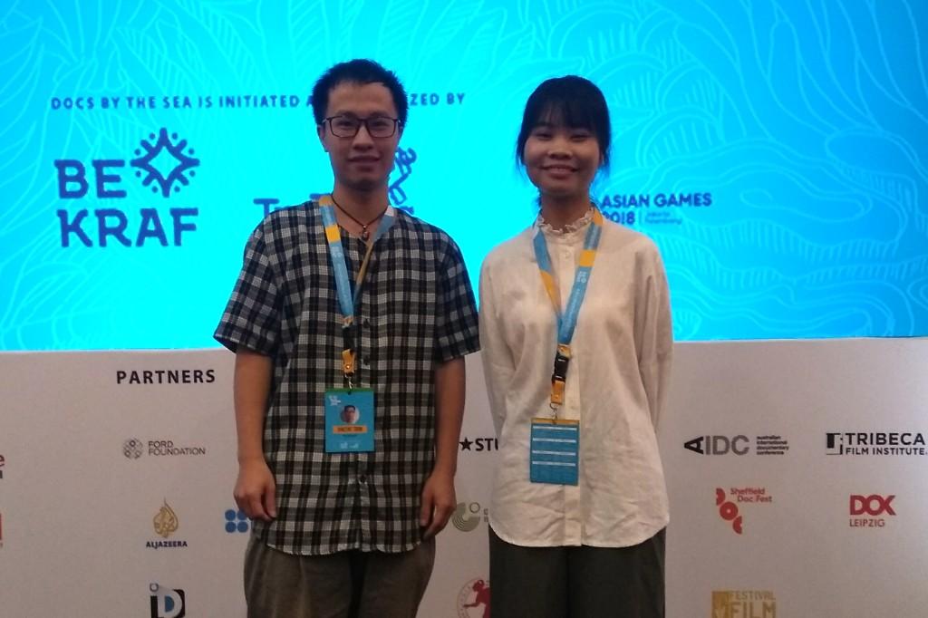 Trang Dao dan Hieu Tran (Foto: Medcom/Purba)