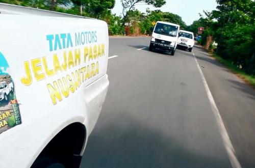 Rombongan tes Tata Jelajah Pasar Nusantara 2018, sukses lalui