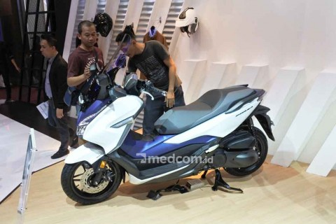 Honda Forza Gaet Ratusan Konsumen?