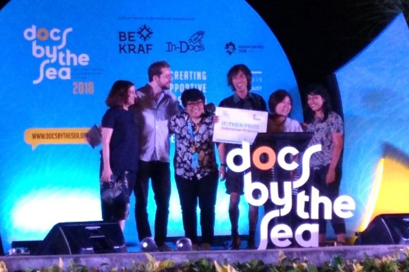 Pemenang forum film dokumenter Docs by The Sea 2018 (Foto: Medcom.id/Purba Wirastama)