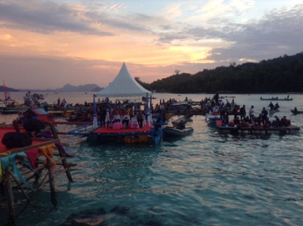 Togean International Oceanic Festival di Lestari Cottage, Pulau Malenge, Kabupaten Tojo Una-una, Togean, Sulawesi Tengah, Kamis, 9 Agustus 2018. Foto: Medcom.id/Renatha Swasty.