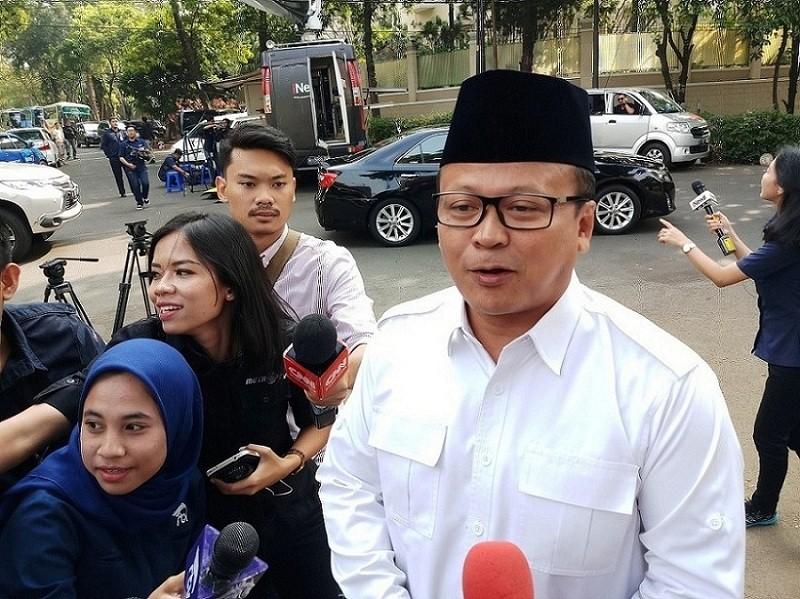 Wakil Ketua Umum Gerindra, Edhy Prabowo di kediaman Prabowo, Jumat, 10 Agustus 2018. Medcom.id/ M Sholahadhin Azhar.