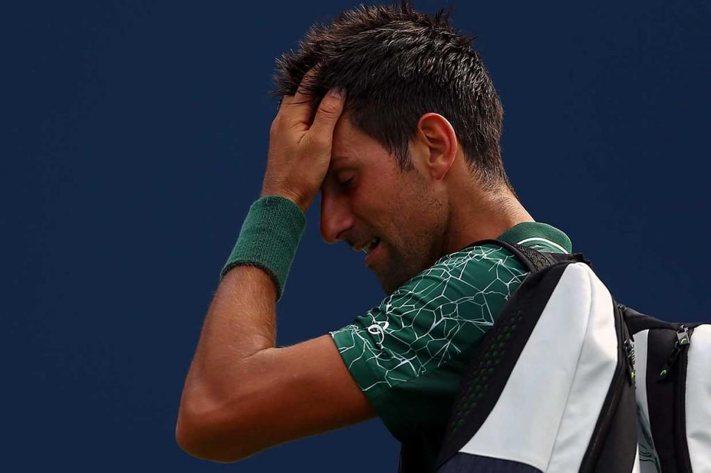 Djokovic Ditaklukkan Petenis Muda Yunani