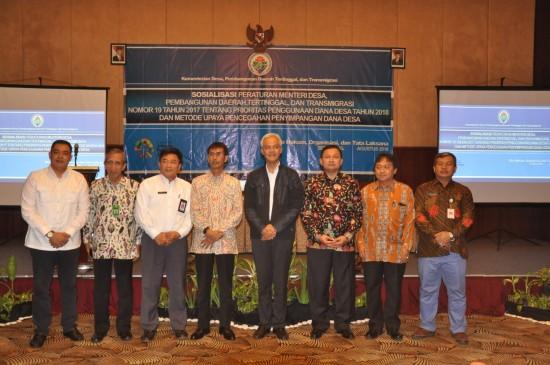 Kemendes PDTT Perketat Penyaluran Dana Desa 2019