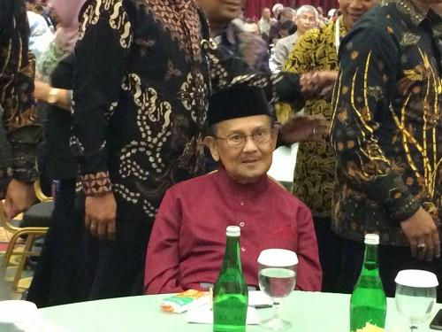 Presiden ke-3 RI Bacharuddin Jusuf Habibie, Medcom.id/Husen