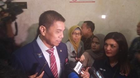 Sekjen Demokrat Hinca Panjaitan/Medcom.id/Whisnu Mardiansyah