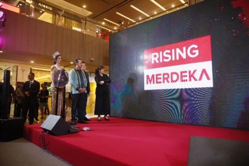 Pembukaan pameran RISING di Singapura yang bertepatan dengan HUT