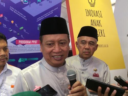 Menristekdikti, Mohamad Nasir di Hakteknas 2018, di Pekanbaru