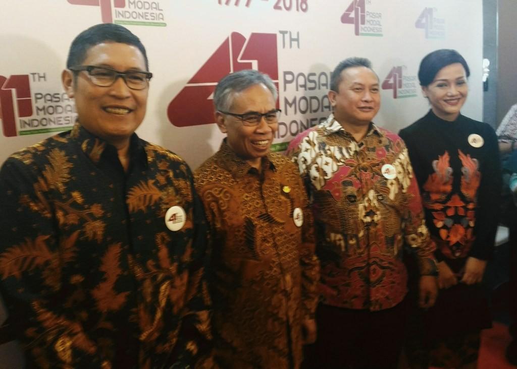 Ketua DK-OJK Wimboh Santoso (kedua dari kiri) (Foto: Medcom.id/Ilham Wibowo)