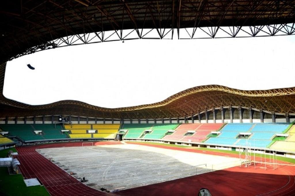 Stadion Patriot Candrabhaga, Bekasi, yang menjadi salah satu venue untuk Asian Games 2018, Medcom.id - Antonio