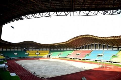 Stadion Patriot Candrabhaga, Bekasi, yang menjadi salah satu