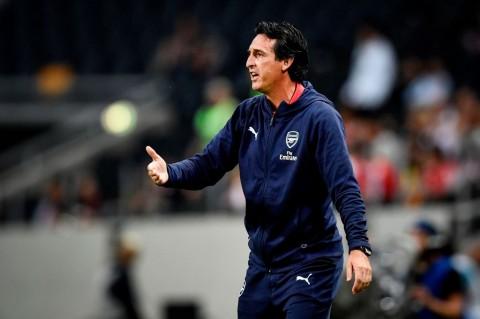 Pelatih Arsenal Unai Emery (Foto: AFP/ Erik SIMANDER)