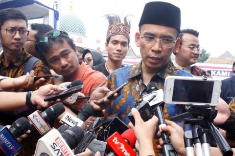 Gubernur Nusa Tenggara Barat Tuan Guru Bajang (TGB) Muhammad