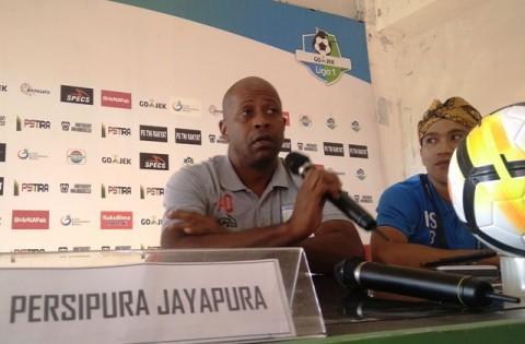 Pelatih Persipura Amilton Silva de Olivera-Medcom.id/Ahmad
