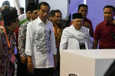 Jokowi-Ma'ruf Amin akan mendaftarkan diri sebagai pasangan