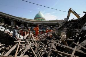 Mencari beton untuk rumah tahan gempa