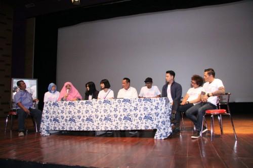 Jumpa media Udah Putusin Aja! (Foto: dok. maxpictures)