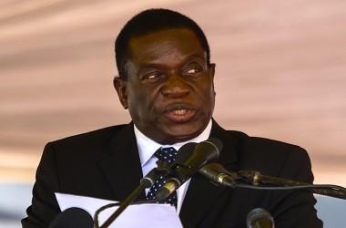 Presiden petahana Zimbabwe Emmerson Mnangagwa. (Foto: AFP)