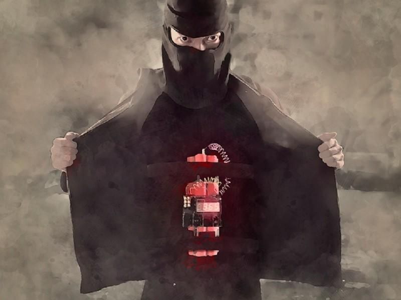 ilustrasi teroris. Medcom.id/ Rakhmat Riyandi.