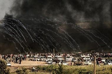 Bentrokan di perbatasan Gaza-Israel sudah terjadi sejak Maret