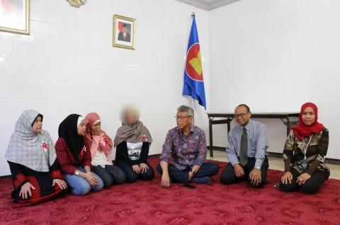 KBRI Amman Pulangkan TKW yang Hilang 13 Tahun Lalu