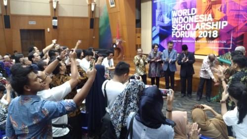 World Indonesia Scholarship (WISH) Forum 2018. Medcom.id/Dian