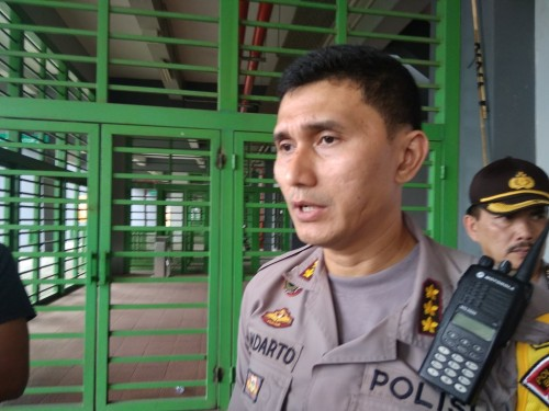 Kapolres Metro Bekasi Kota, Kombes Pol Indarto. (Foto: