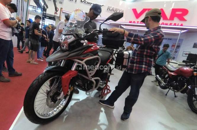 Viar Vortex 250 ini bakal jadi tunggangan Gunadi dari Jakarta ke Himalaya. medcom.id/Ahmad Garuda