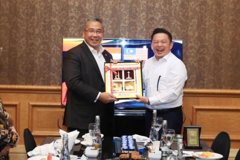 Indonesia dan Malaysia Sepakat Bentuk Desk Malaysian Invesment Indonesia
