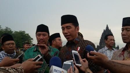 Presiden Joko Widodo. (Medcom.id-Ahmad Mustaqim)
